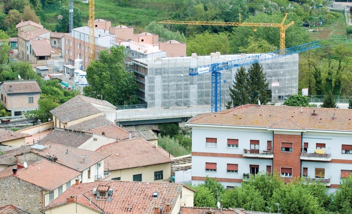 Montaggio Smontaggio di gru edili