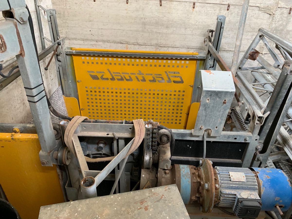 Montacarichi Piattaforma Di Trasporto Electroelsa Modello
